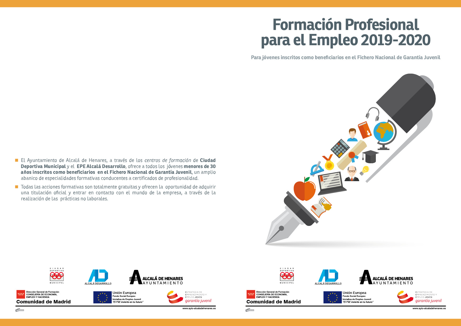 Certificados Profesionalidad Garantía Juvenil Menores 30 Años
